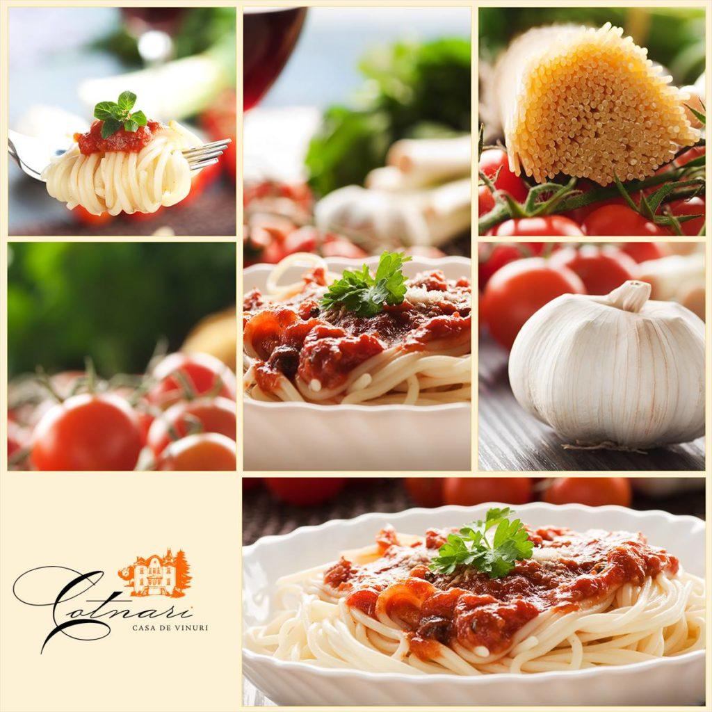 spaghetti-cu-sos-de-rosii