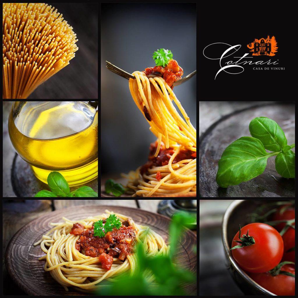 spaghetti-cu-rosii-proaspete-si-busuioc