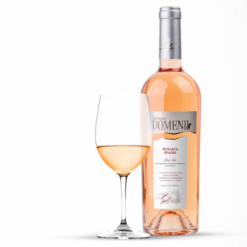 Cotnari-DOMENII-Feteasca-Neagra-Rose-sec-asociere