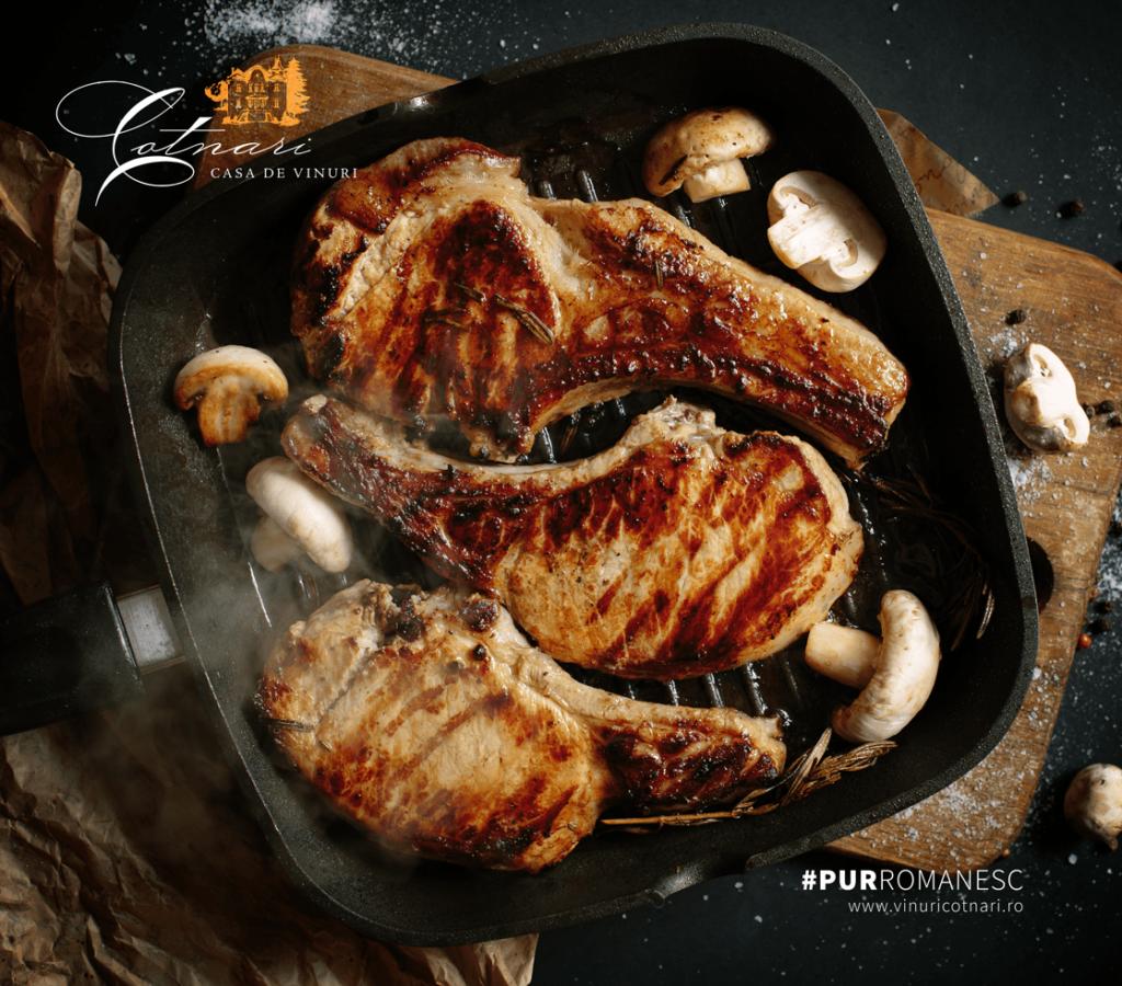 cotlet-de-porc-cu-ciuperci-la-gratar