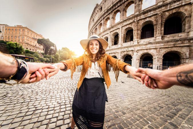 COLOCVIU la Roma